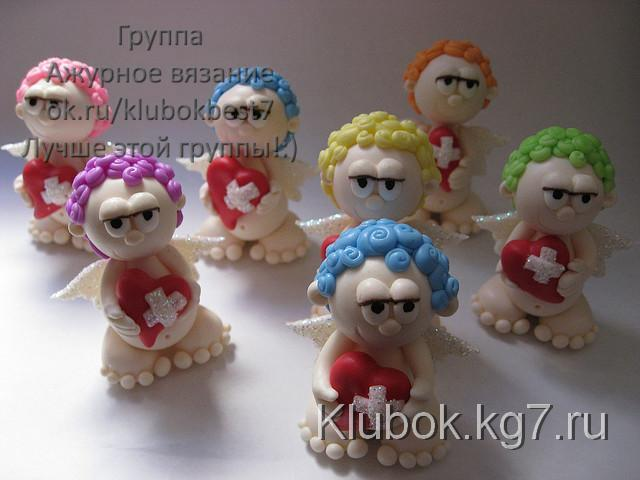 Cold porcelain Cupids